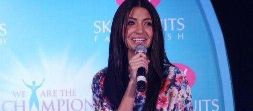 Anushka Sharma at the Launch of JOY Beauty Product at New Delhi