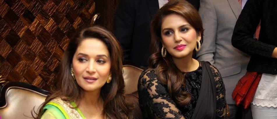 Madhuri Dixit and Huma Quraishi to Promote DEDH ISHQUIYA