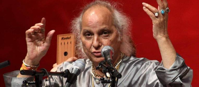 Pt Jasraj at Bhilwara Sur Sangam at Kamani in New Delhi