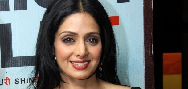Shri Devi at the Premier of the Film ENGLISH VINGLISH at New Delhi