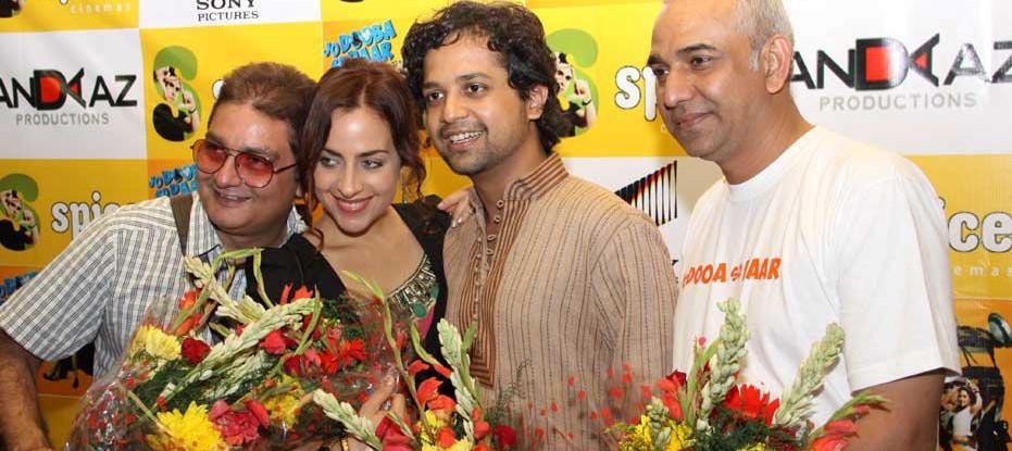 Vinay Pathak at the Premier of JO DOOBA SO PAAR at Noida