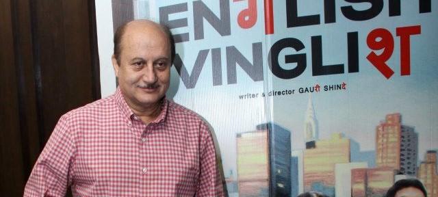 Anupam Kher at the Premier of ENGLISH VINGLISH in Delhi